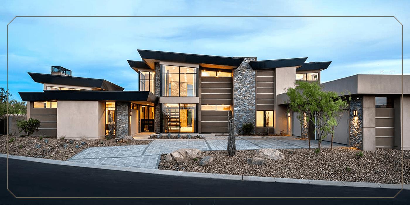 the mesquite model home