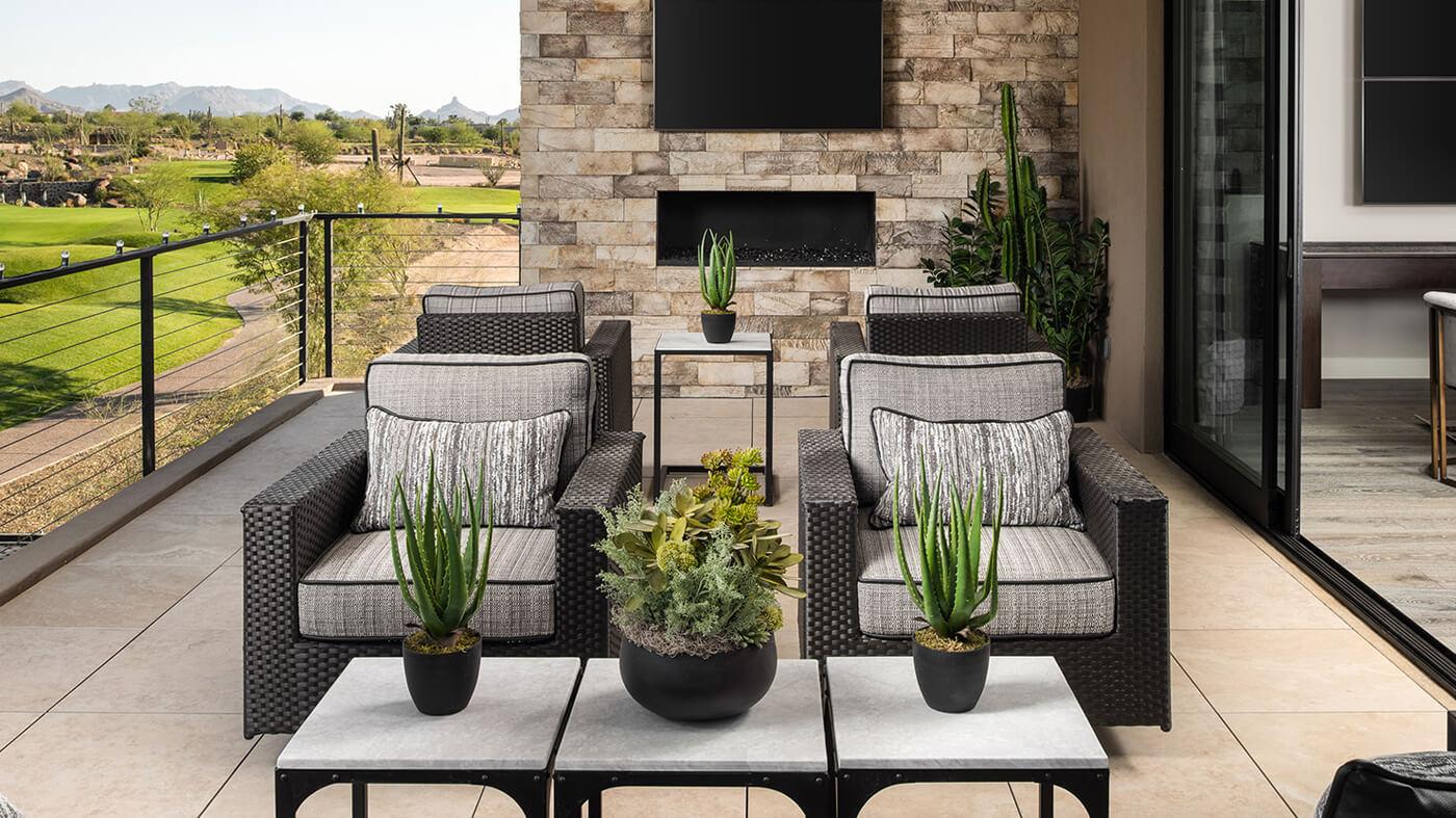 Front room furniture - Golf Communities in Scottsdale AZ - Seven Desert Mountain